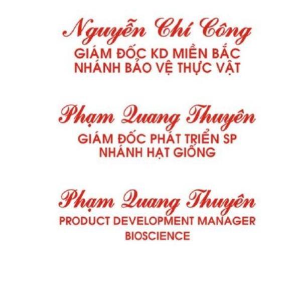 Kh ắc dấu chức danh tại Đà Nẵng